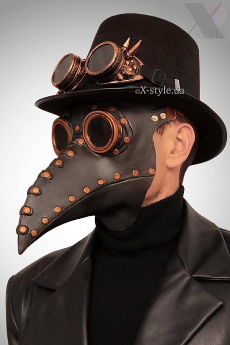 Маска Чумной доктор Steampunk X1074 (901074)