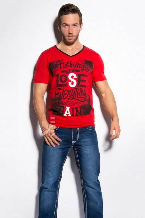 Красная футболка мужская MF2010 (202010)