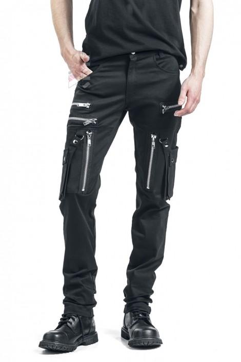 Черные мужские брюки с накладными карманами XTC7004 (207004)