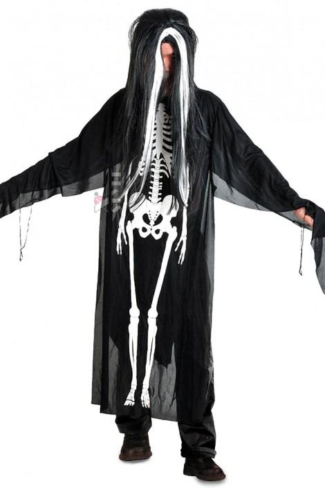 Балахон со скелетом (221007)