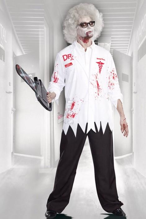 Костюм Сумасшедший доктор с париком (221009)