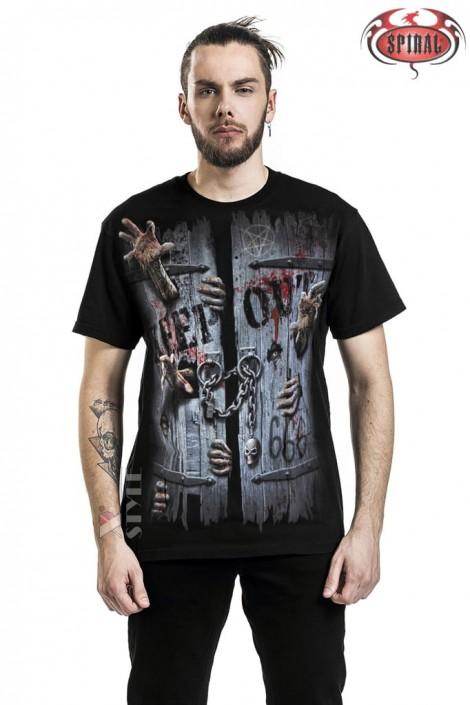 Мужская футболка Zombies Unleashed Spiral (202014)