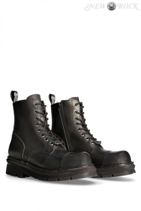 Ботинки из натуральной кожи NOMADA PLANING (NEWMILI083-S14)
