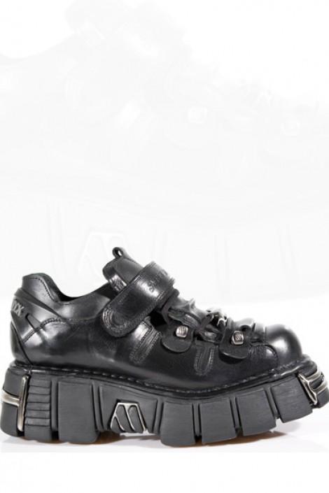 Мужские ботинки на платформе New Rock (131-S1)