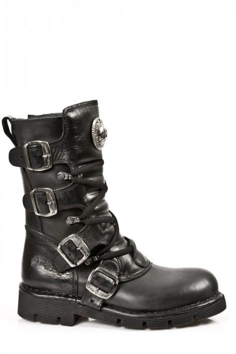 Кожаные ботинки NEW ROCK (1473-S1)