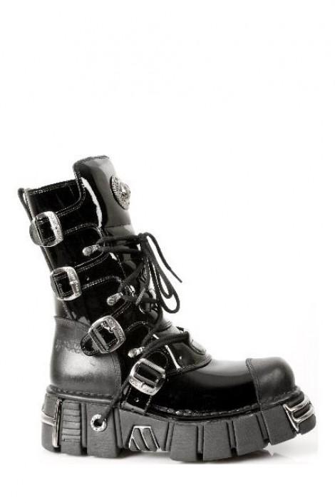 Ботинки со шнуровкой (313-S1)