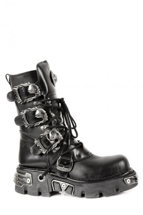Ботинки с черепами (391-S1)
