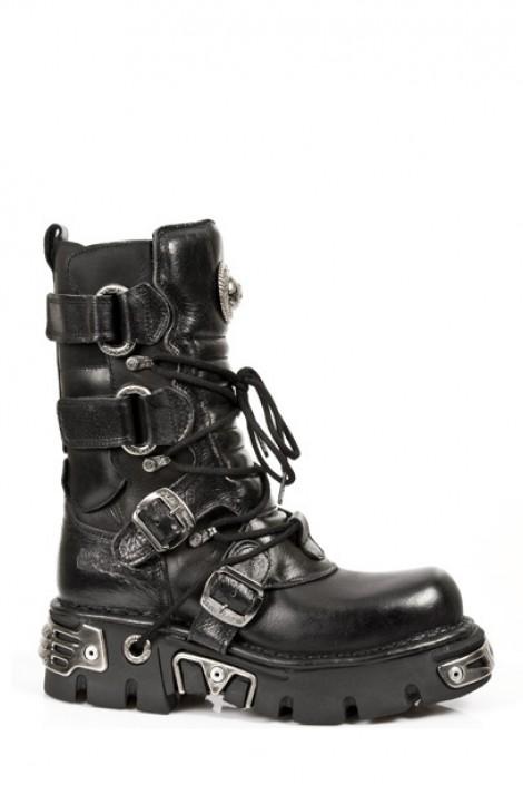 Ботинки с ремешками (575-S1)