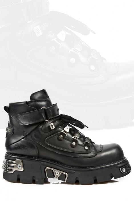 Ботинки мужские со шнуровкой (654-S1)