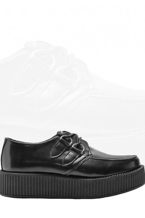 Кожаные туфли на платформе (311760)