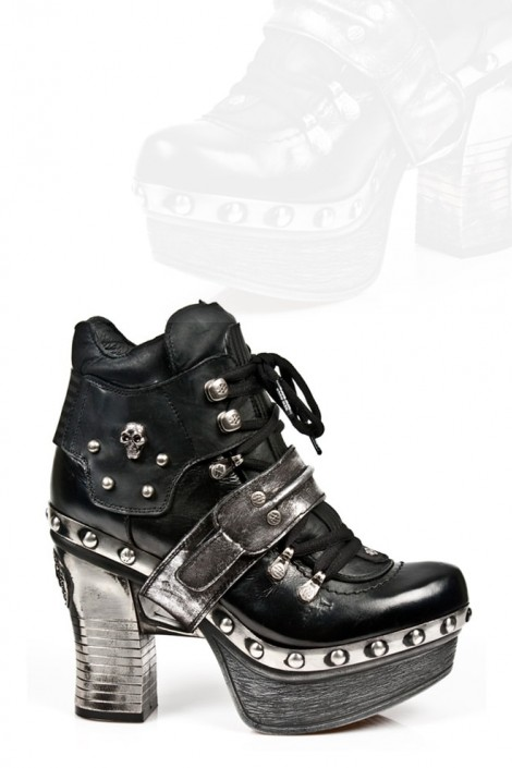 Кожаные ботиночки New Rock (Z009-C1)