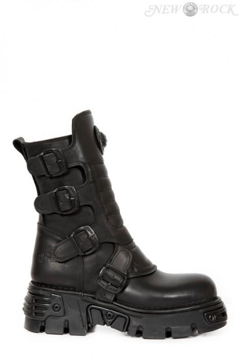 Ботинки черные M373X-S27 (373X-S27)