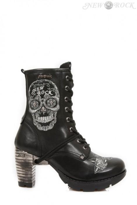 Ботинки Bordados Gris женские (TR048-S1)