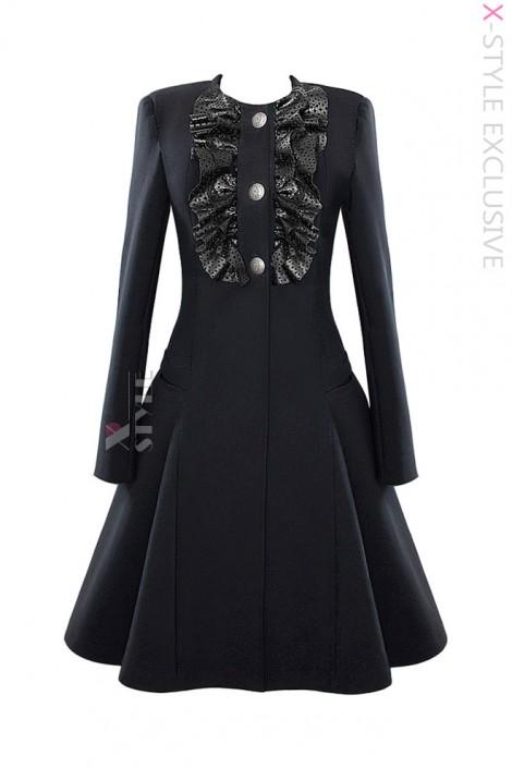Демисезонное пальто в стиле 50-х X-Style (114040)