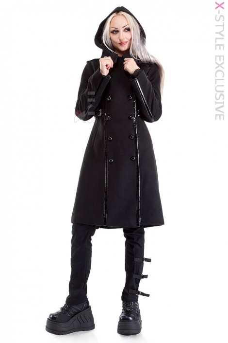 Шерстяное пальто Tech-Academy Xstyle (114055)