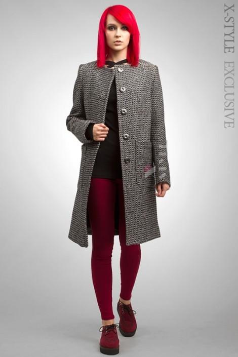 Твидовое пальто XT-34 (114034)