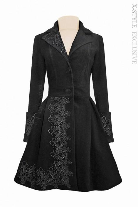 Демисезонное пальто в стиле 50-х (114014)