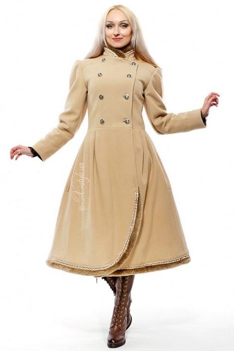 Женское кашемировое пальто X-Style (115038)