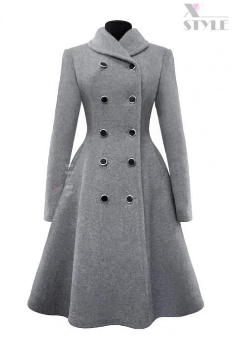 Зимнее шерстяное пальто X5054 (115054)