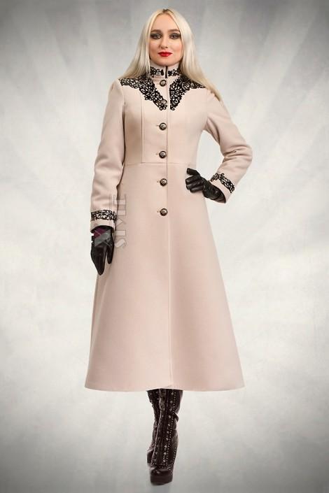 Длинное зимнее пальто X5057 (115057)