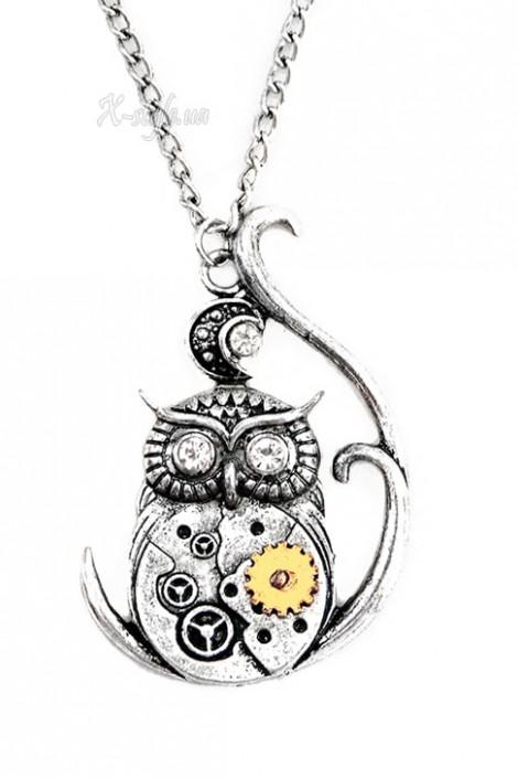 Кулон Steampunk Owl (707058)