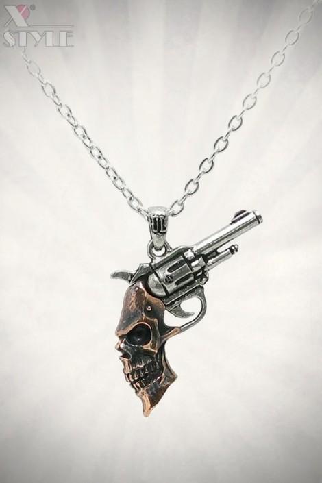Кулон Steampunk Triggerhead (ULP46)