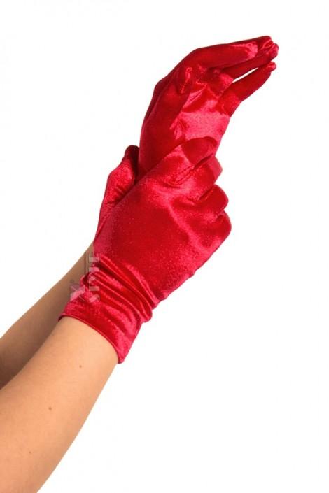 Красные атласные перчатки A1154 (601154)