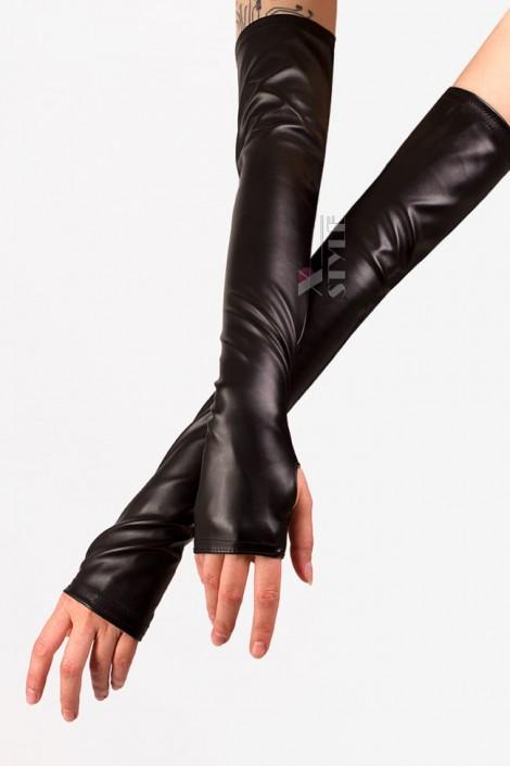 Длинные перчатки без пальцев XA167 (601167)