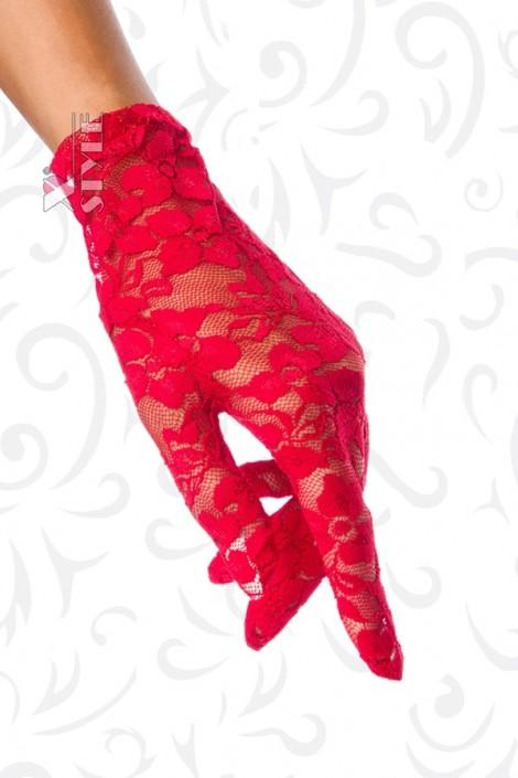 Красные кружевные перчатки AN1147 (601147)