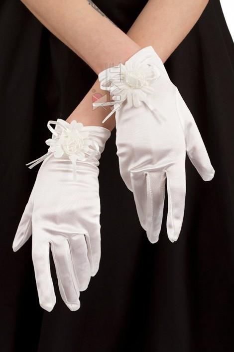 Вечерние белые перчатки XA1151 (601151)