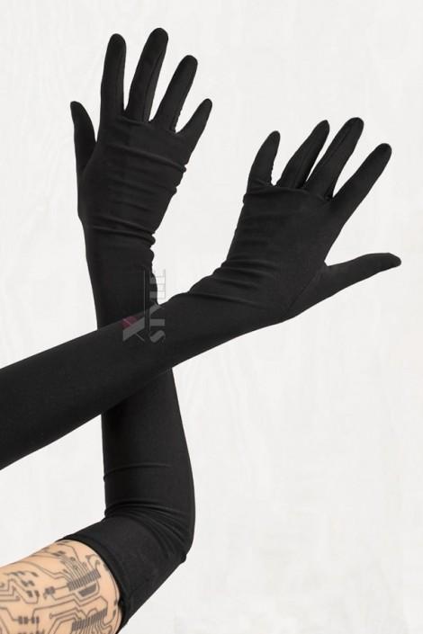 Длинные черные перчатки Xstyle accessories (601078)