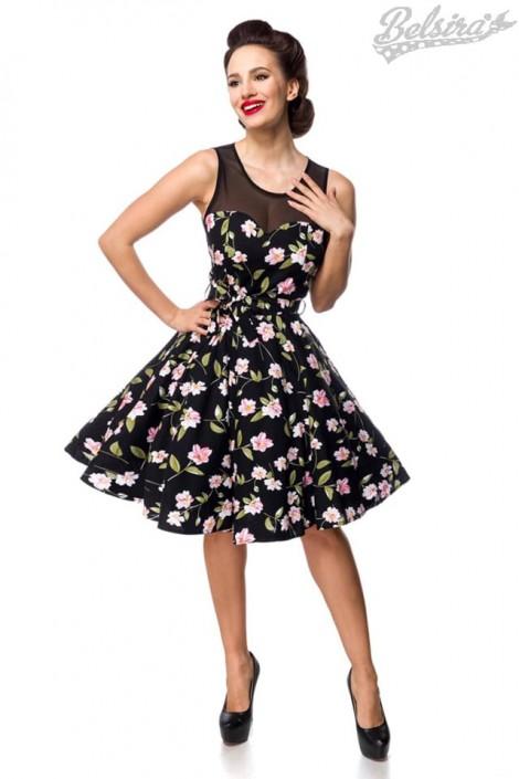 Платье в стиле Ретро с цветочным узором B5516 (105516)