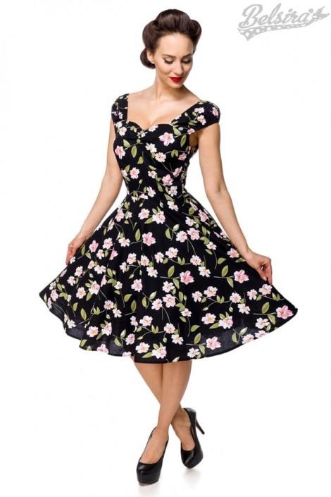 Винтажное платье с цветочным принтом B5520 (105520)