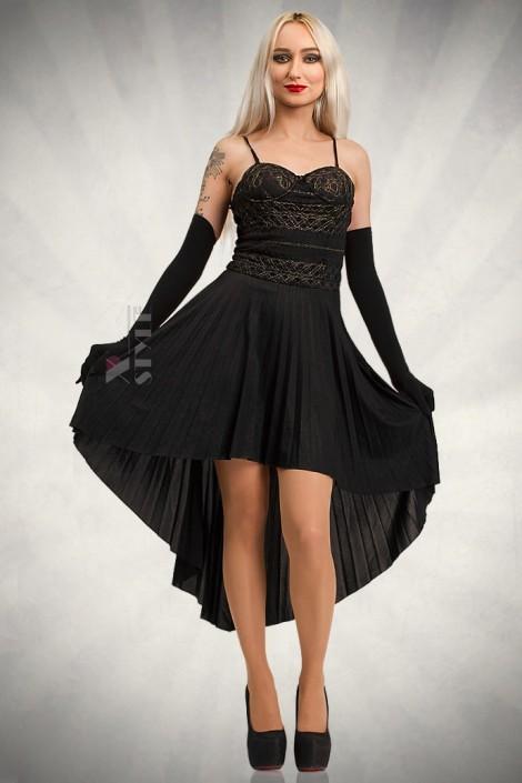 Платье с корсетом и юбкой плиссе KR147 (105147)