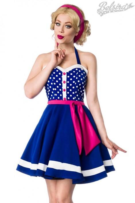 Яркое платье в стиле 60-х B5405 (105405)