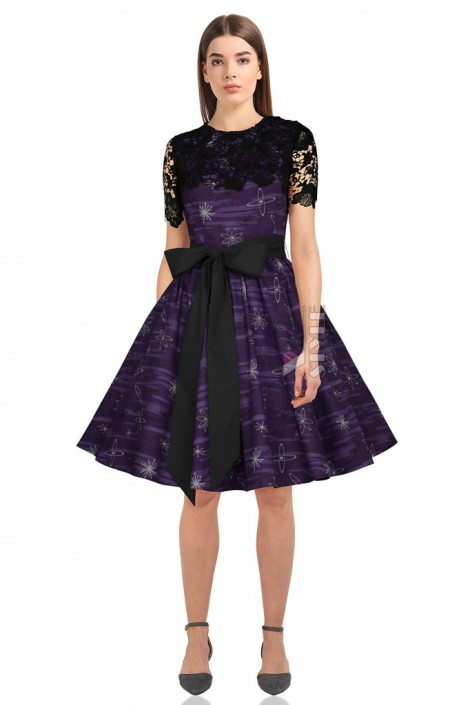 Платье с шалью и поясом XC5464 (105464)