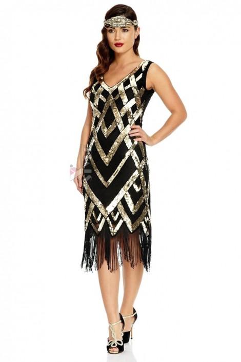 Платье в стиле Чикаго XTC471 (105471)
