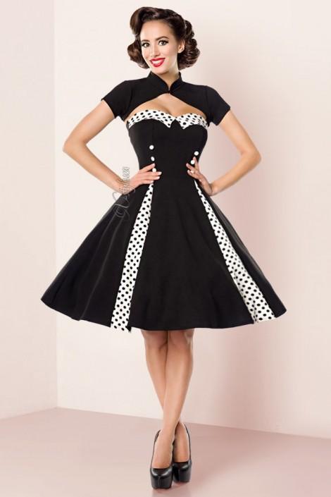 Винтажное платье с болеро Belsira (105258)