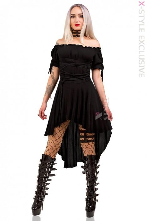 Платье с открытыми плечами X439 (105439)