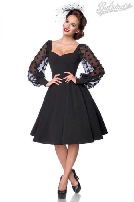 Винтажное вечернее платье с длинным рукавом B5485 (105485)