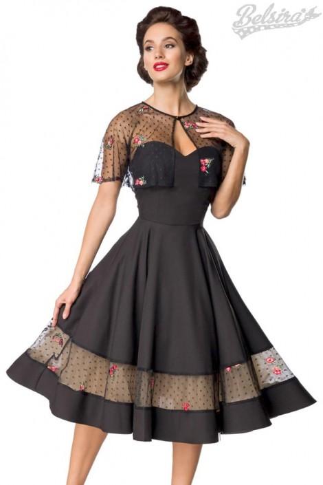 Винтажное нарядное платье с болеро Belsira (105487)
