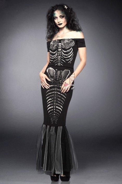 Платье Скелет русалки (105201)