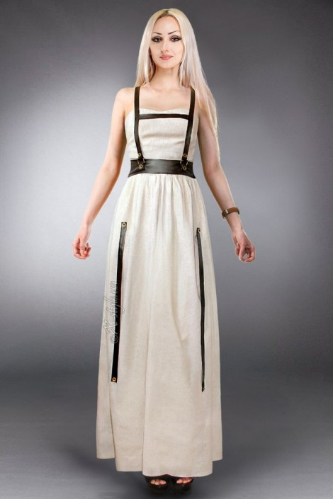 Длинное платье с портупеей XSTYLE (105202)