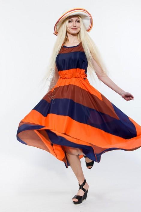 Летнее платье в стиле 80-х 105118 (105118)