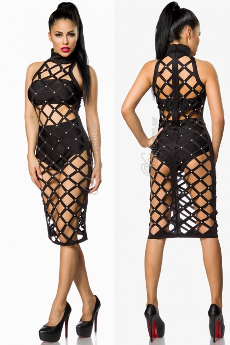 Напіввідкрите чорне плаття купити недорого в Києві 62f199946076c