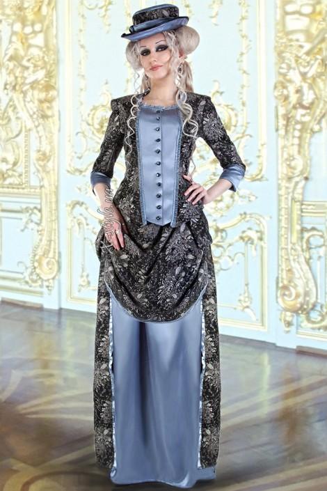 Викторианское платье конца 19 ст. (125007)