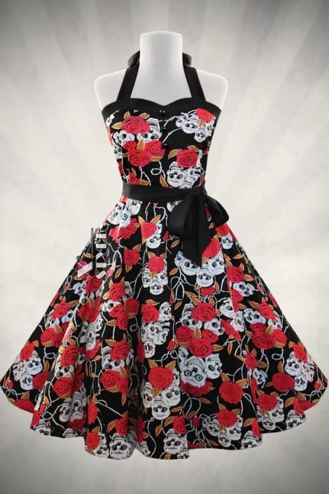 Платье Рокабилли X203 (105203)