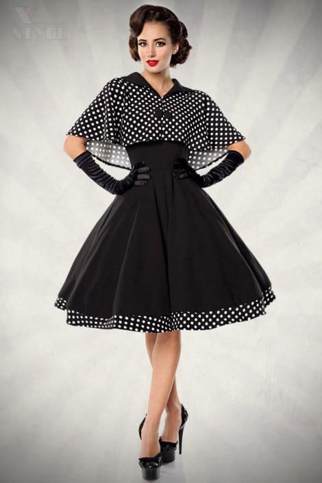 Платье в стиле 50-х с шалью (105214)