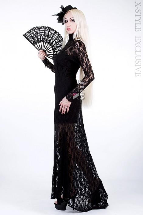Кружевное платье со шлейфом Xstyle (105270)