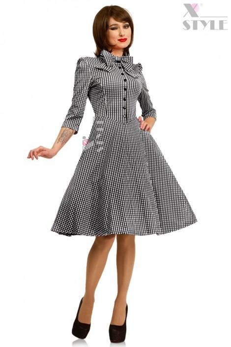 Клетчатое платье в стиле 50-х X-Style (105279)